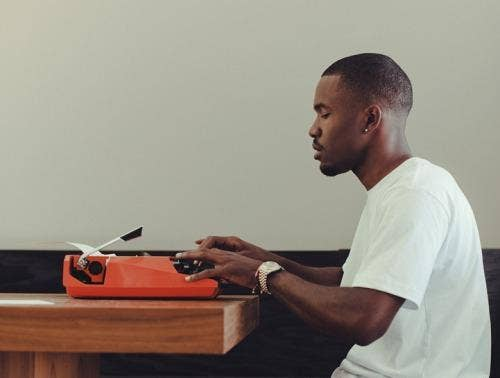 Frank Ocean debuts new track, 'Lens' and it's highly auto tuned