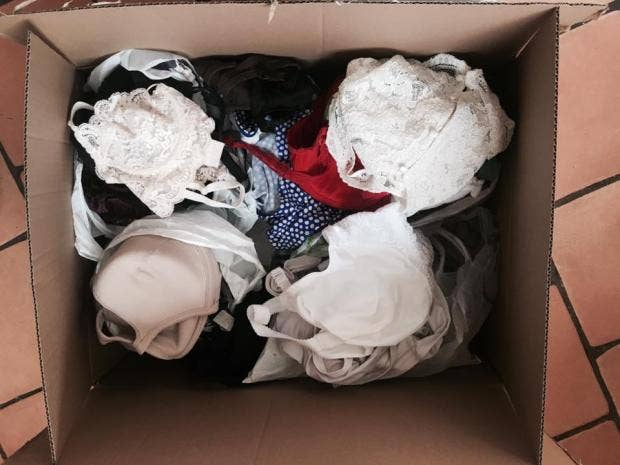 Meet the woman behind u0027Bras not Bombsu0027 donating underwear to refugees | The Independent & Meet the woman behind u0027Bras not Bombsu0027 donating underwear to ...