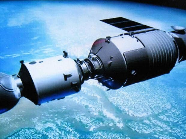 tiangong 1 out of control chinese space station about to