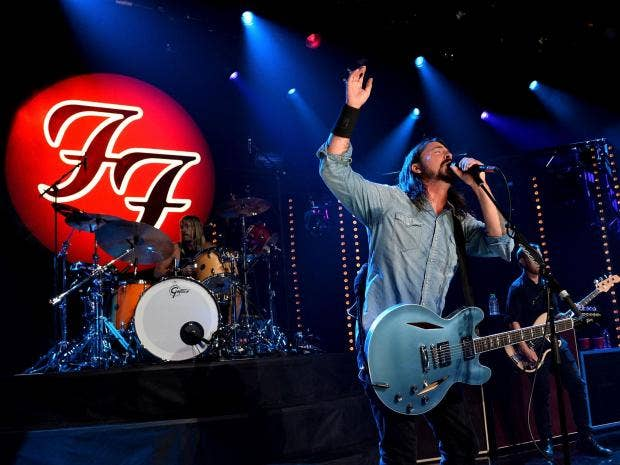 Foo Fighters to Headline Saturday Night at Glastonbury 2017