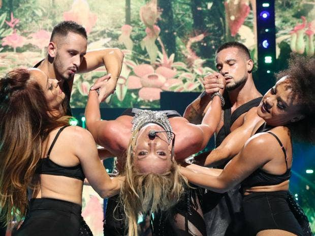 Gimme more costume changes - Britney Spears wows fans at Apple Music Festival