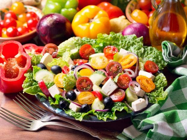 Eating A Mediterranean Diet 'could Help Lower Risk Of