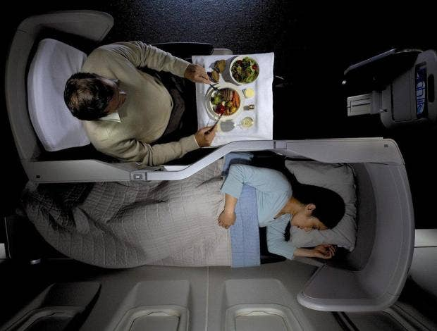Here 39 s what it 39 s like to fly first class on british for 388 new american cuisine
