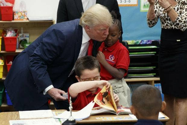 I M Nervous School Children React Adversely To Donald