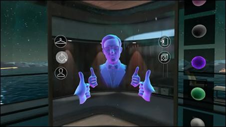 Virtual avatar dating