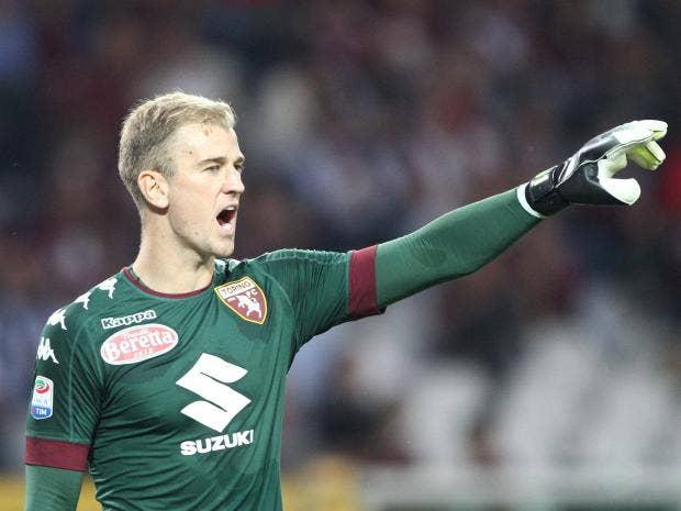 joe hart is settling in well italy to help lead torino towards a european qualification berth getty