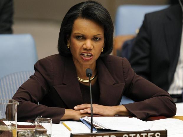 Donald Trump called former secretary of state Condoleezza