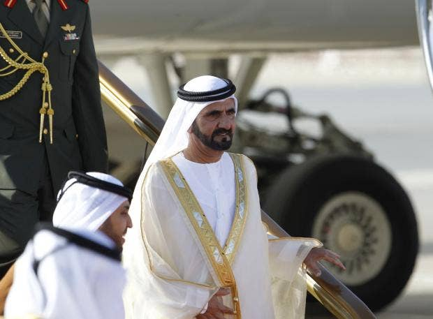 Dubai's Emir flies more than £250,000 of aid to Haiti in his private jet