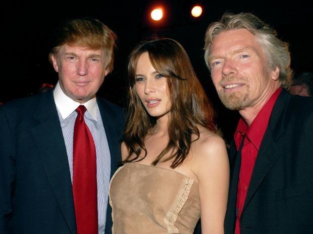 Richard Branson Warns Against A Donald Trump Presidency