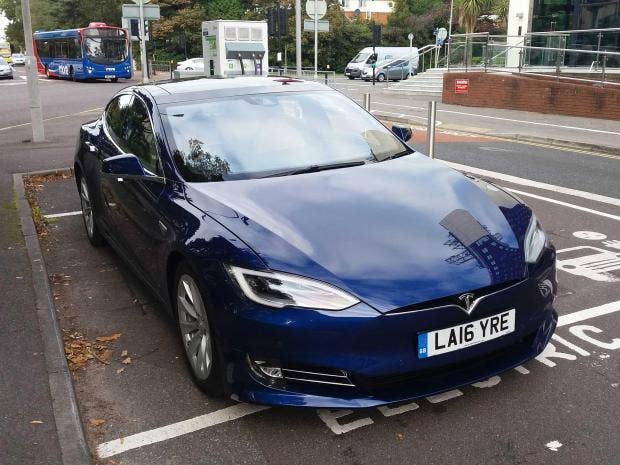 I Tested Out A Tesla Model S For A Week And It Was A Little Bit - A tesla