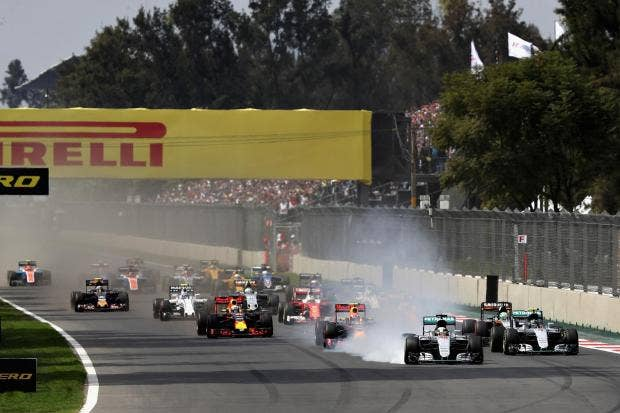 Lewis Hamilton keeps the pressure on with Mexican Grand Prix win