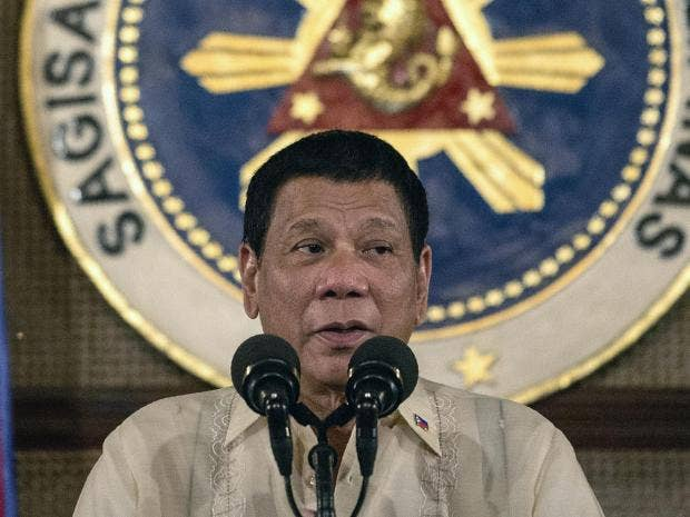 'I like your mouth': Philippine president likens himself to Trump