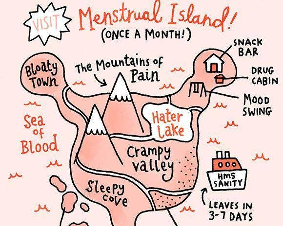 10 amazing cartoons that show the reality of periods | indy100
