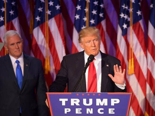 the absurdity of the newly elected president of the united states donald trump