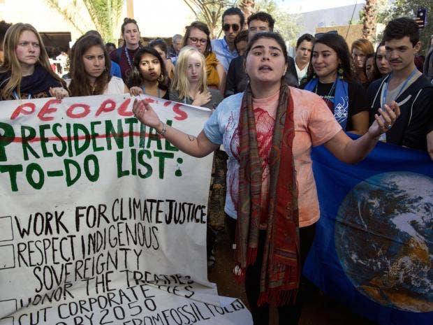 trump-morocco-climate-change-protest-getty.jpg