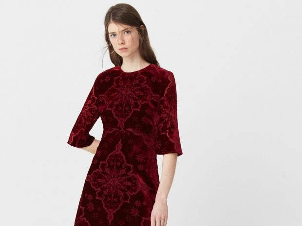 Long dress for christmas party meals