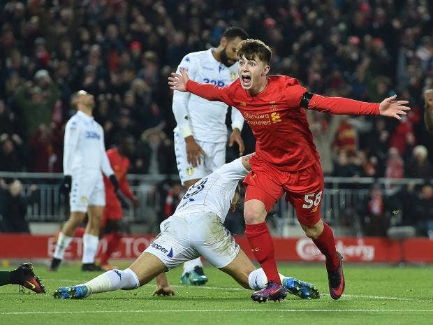 The best reaction to Ben Woodburn becoming Liverpool's youngest ever scorer