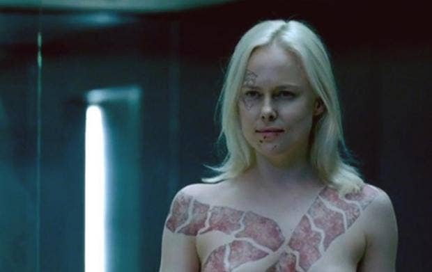 Westworld season 1 finale did you catch the hbo show s for Topless tattoo girls