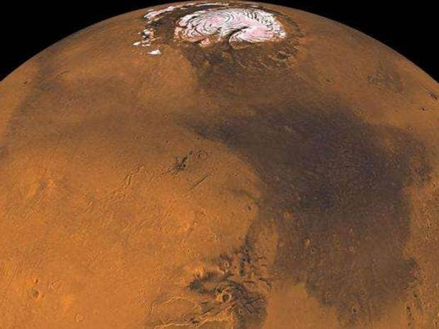 Giant Tsunami on Mars Caused by Asteroid Impact