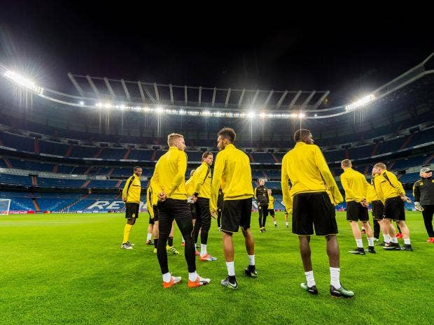 who will claim top spot in group f at the bernabeu tonight getty