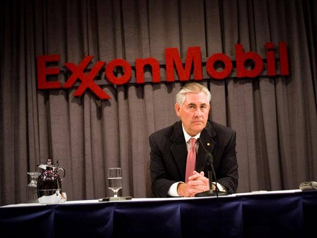 Image result for exxon ceo