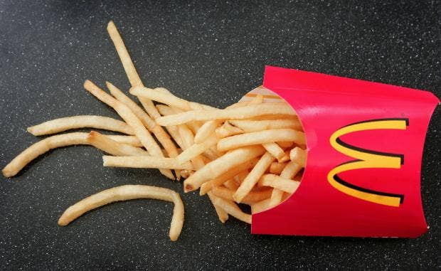 You can get McDonald's delivered to your door in January