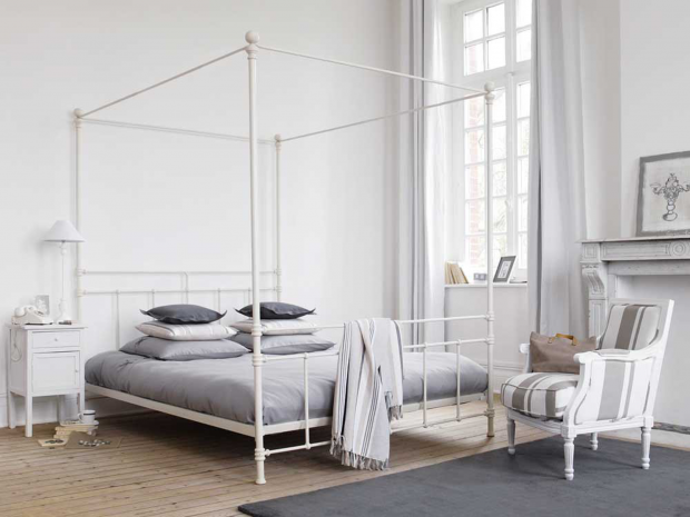 10 best four poster beds the independent - Letto baldacchino maison du monde ...