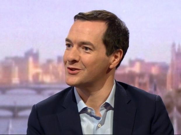 George Osborne takes adviser role at Blackrock