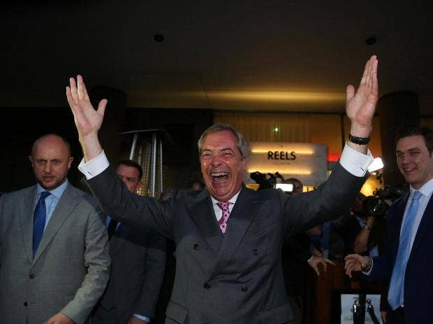 Nigel Farage accuses Jo Cox's widower of supporting extremism