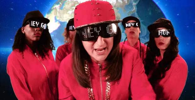 "Honey G - the ex-X Factor contestant who spurred on a hundred think pieces - has released her first single, the fittingly titled ""The Honey G Show""."