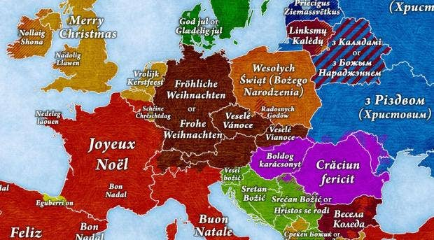 how to say merry christmas in every country in europe - Merry Christmas In Italian Translation
