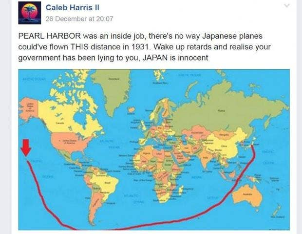Just how confused is this man about geography? | indy100