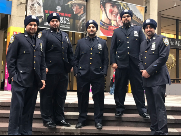 Image result for NYPD to allow Sikh officers to wear turbans and beards while on duty