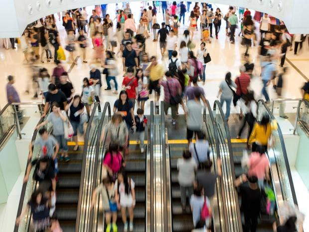 Retail sales tumble amid spending squeeze