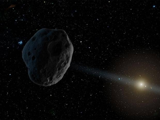 Rare comet set to be visible from Earth for first time ...