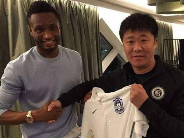John Obi Mikel confirms move to Chinese Super League