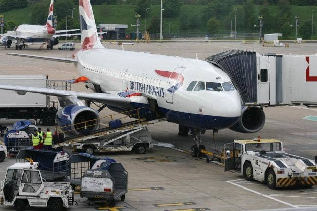 BA strike no likely to affect Gib