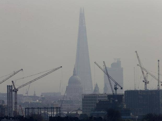 London Has Already Breached Its Air Pollution Limit For The Entire Year
