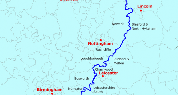 this map shows exactly where the north is