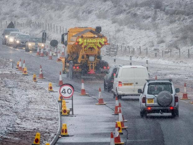 More snow and ice to come - and it won't clear until Sunday