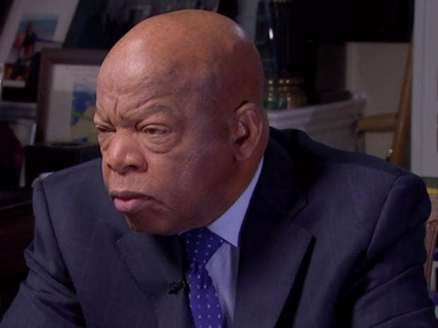 Rep. John Lewis Rips Into Trump For Not Being a