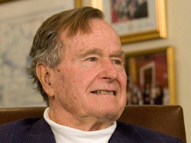 Barbara Bush hospitalized along with George H.W. Bush