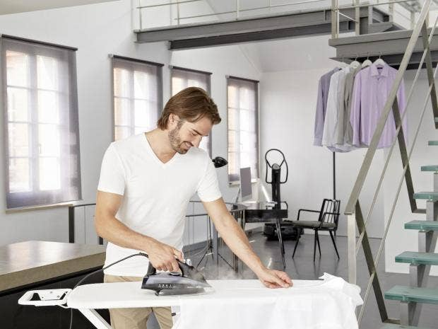 Image result for  using dry iron