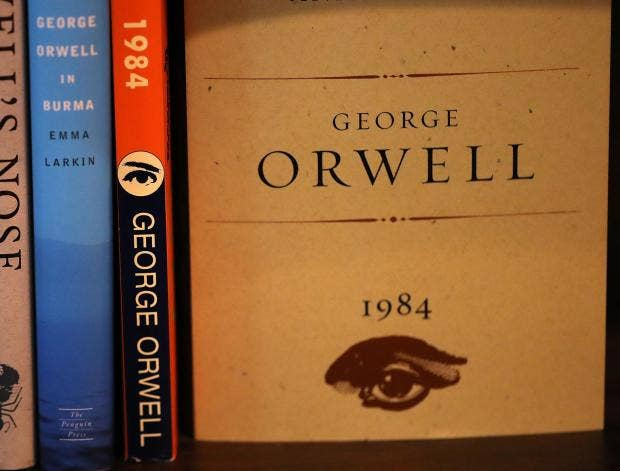 the summary and reactions on george orwells 1984