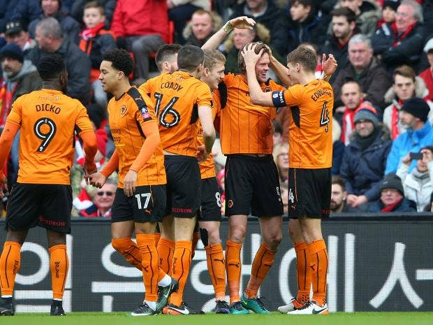 Liverpool Vs Wolves As It Happened Richard Stearman And