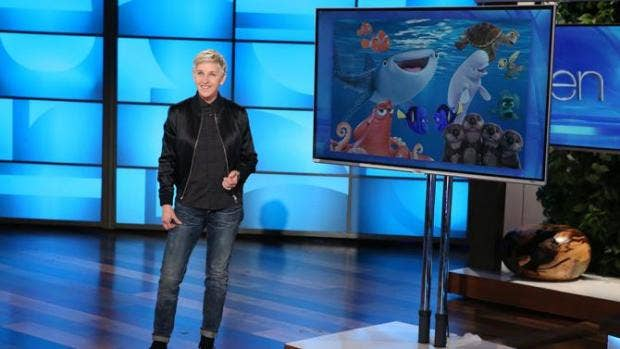 Ellen DeGeneres launches sarcastic attack on Donald Trump using Finding Dory plot