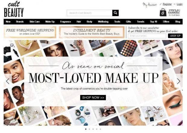 british makeup sites