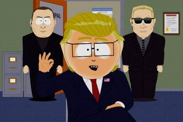 'South Park' Creators: Trump Too Hard To Satirize