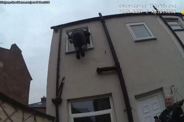 Bathroom Window Jammed burglar jailed after getting stuck in bathroom window | the