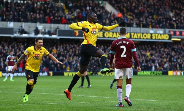 Watford 2-1 Burnley: Niang nets victor  for Hornets